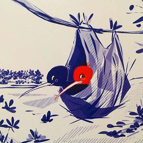 Ecole Illustration Paris - Planche Audrey D - Ecole Jean Trubert