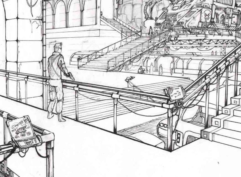 Formation professionnelle dessinateur BD éligible CPF - sketching et croquis rapides -Ecole Jean Trubert