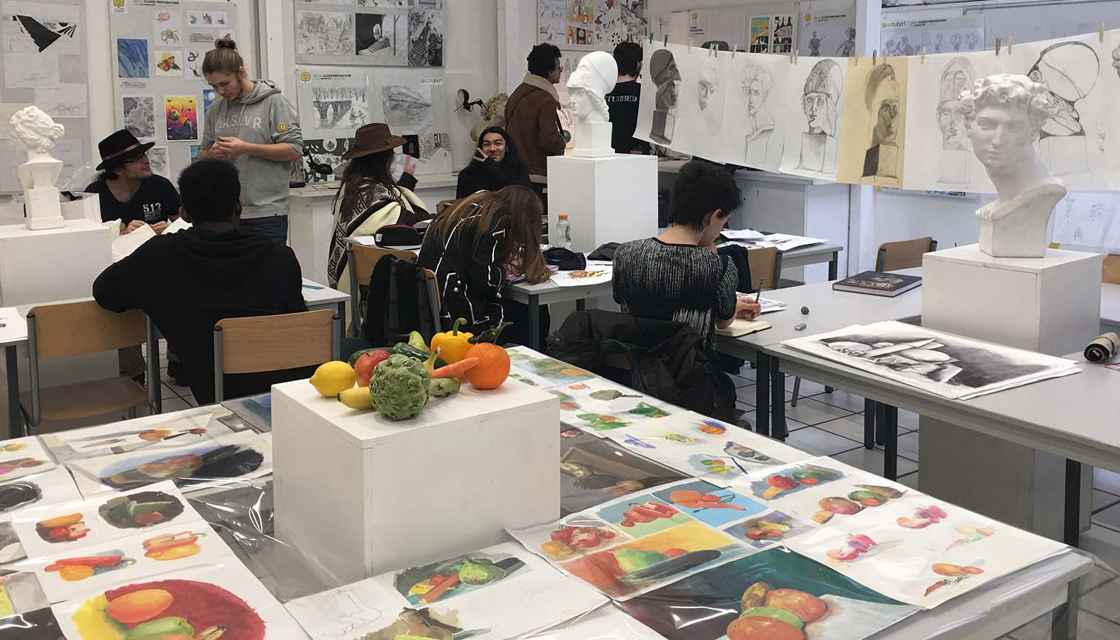 Ecole de Manga, BD, Storyboard Paris - Ecole Jean Trubert